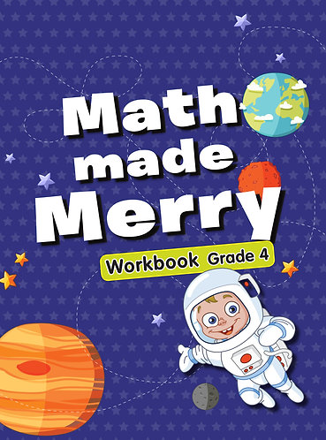 Maths Made Merry Workbook Grade -4