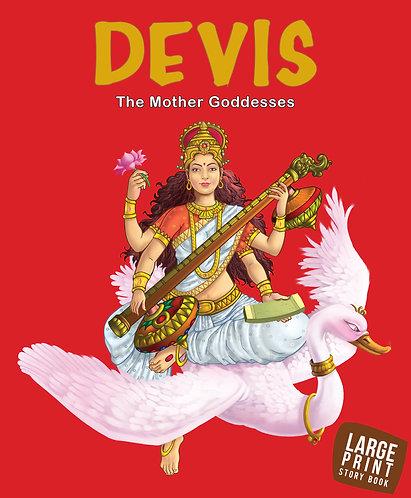 Devis The Mother Goddesses : Large print