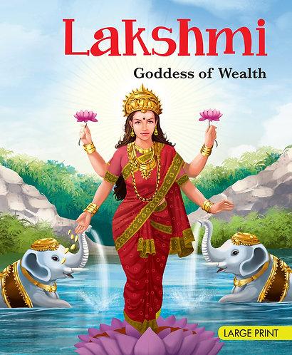 Lakshmi Goddess Of Wealth : Large Print