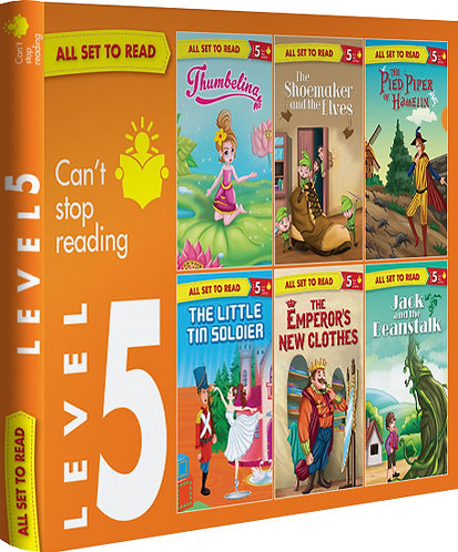 All Set TO Read Readers Level- 5 Box