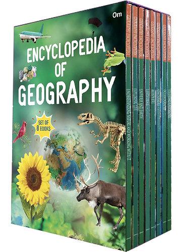 Encyclopedia Of Geography (Set of 8 books) (Encyclopedias)