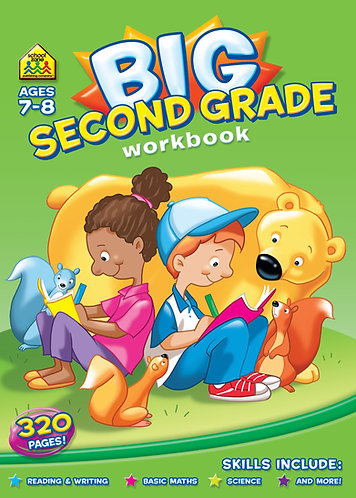 Big Second Grade Workbook Ages 7-8