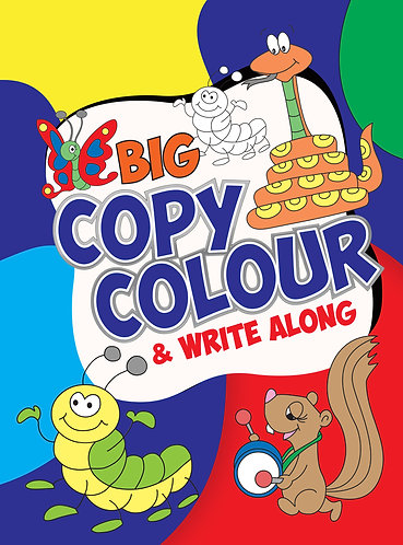 Big Copy Colour and Write Along (Binder)
