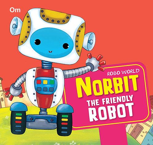 Robo World : Norbit The Friendly Robot : Cutout Books