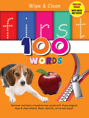 First 100 Words Wipe & Clean