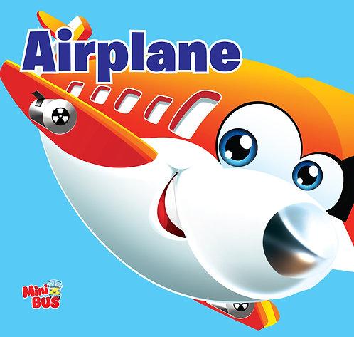 Airplane : Cutout Board Book