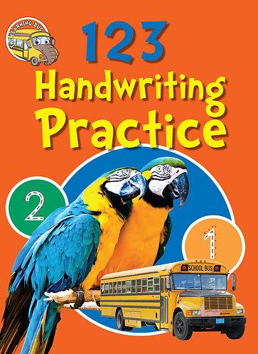 Handwriting Practice workbook 123