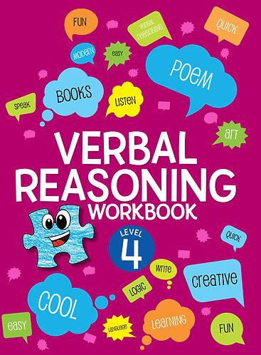 Verbal Reasoning Workbook Grade 4