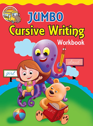JUMBO Cursive Writing Workbook (Binder)