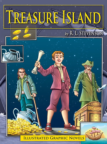 Treasure Island: Illustrated Graphic Novels