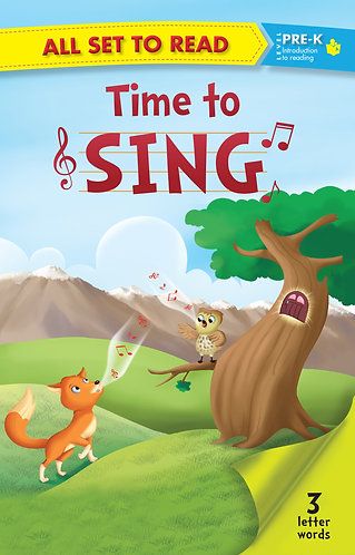 All Set to Read Level Pre-K : Time to Sing