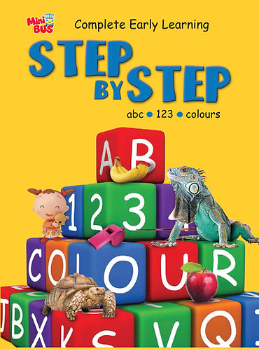 Step By Step abc, 123, Colours
