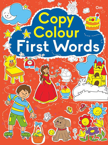 COPY COLOUR FIRST WORDS