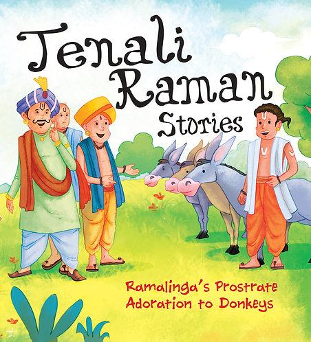 Ramalinga's Prostrate Adoration to Donkeys : Tenali Raman Stories