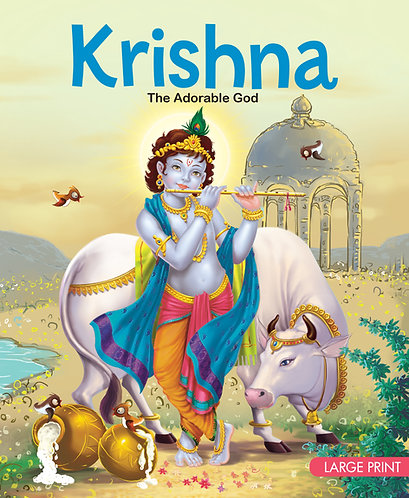 Krishna The Adorable God : Large Print