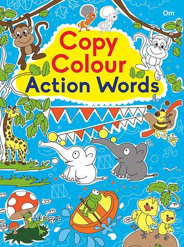 COPY COLOUR ACTION WORDS