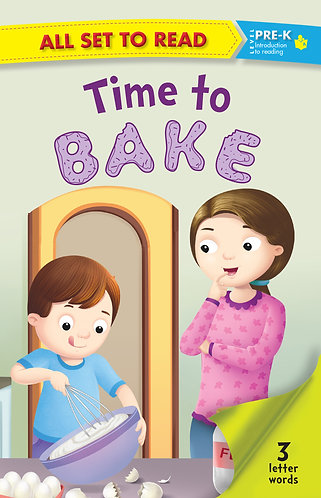 All Set to Read Pre- K : Time to Bake