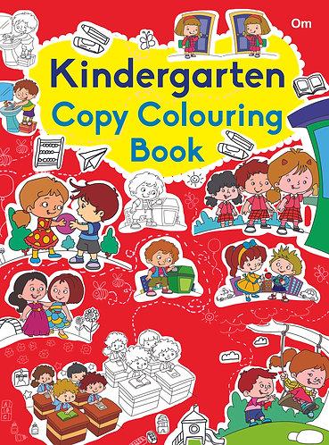 COPY COLOURING BOOK KINDERGARTEN