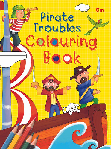 Pirate Troubles Colouring Book