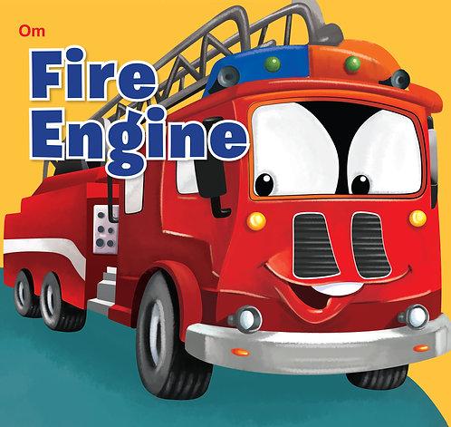 Fire Engine : Cutout Board Book