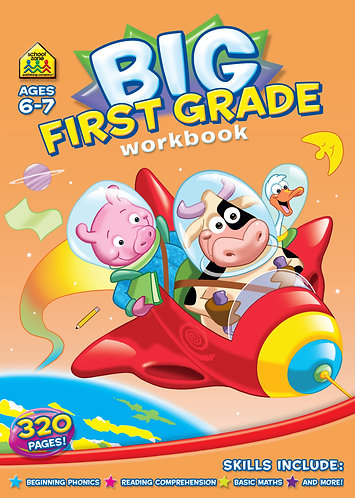 Big First Grade Workbook (Ages 6-7)