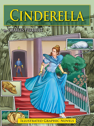 Cinderella: Illustrated Graphic Novels