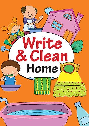WRITE & CLEAN : HOME