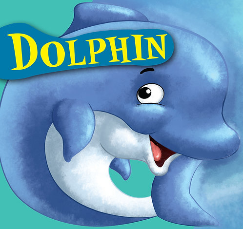 Dolphin : Cutout Board Book