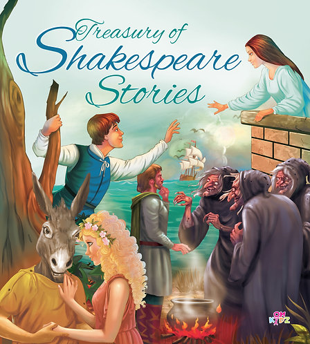 Treasury of Shakespeare Stories Binder