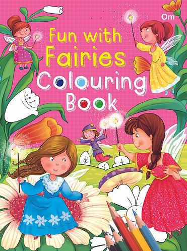 Fun With Fairies Colouring Book