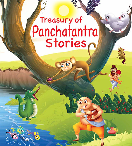 Treasury of Panchtantra Stories (Binder)