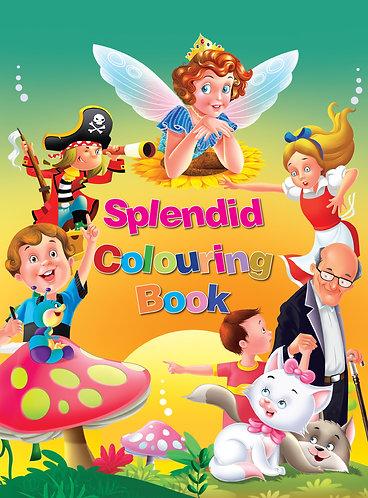 Splendid Colouring Book 4+1