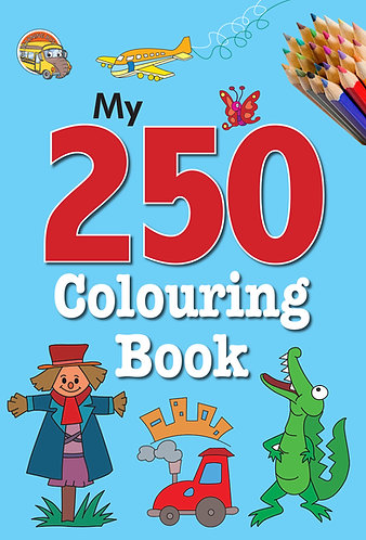 My 250 colouring Book -1