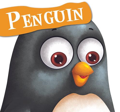 Penguin : Cutout Board Book
