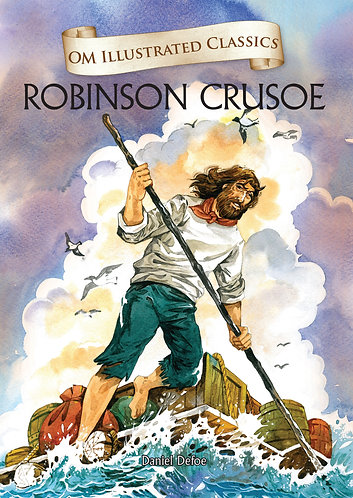 Robinson Crusoe : Om Illustrated Classics