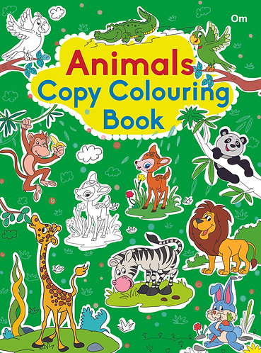 COPY COLOURING BOOK ANIMAL