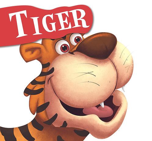 Tiger : Cutout Board Book