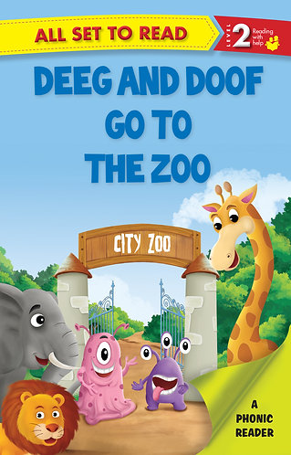 Deeg And Doof Go To The Zoo : Phonic Reader