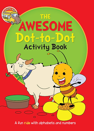 THE AWESOME Dot-to-Dot Activity Book (Binder)