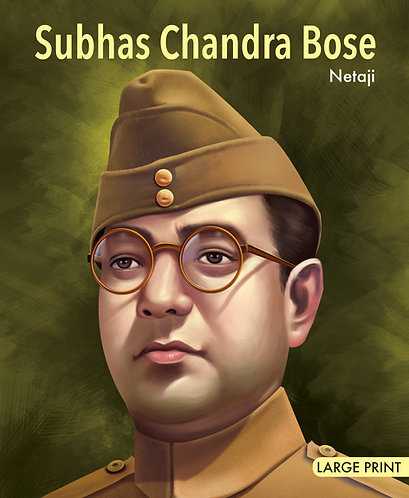 Subhas Chandra Bose Netaji : Large Print