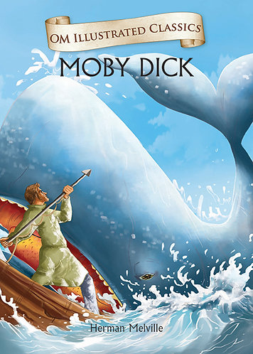 Moby Dick : Om Illustrated Classics
