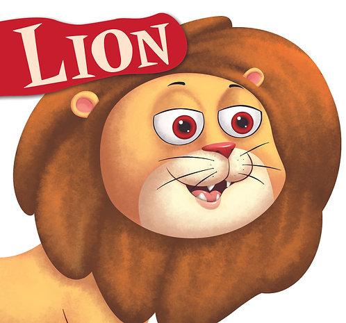 Lion : Cutout Board Book