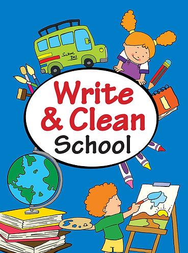 WRITE & CLEAN : SCHOOL