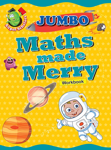 JUMBO Maths Made Merry Workbook (Binder)