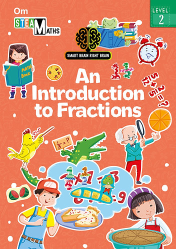 Smart Brain Right Brain: Science Level 2 An Introduction to Fractions