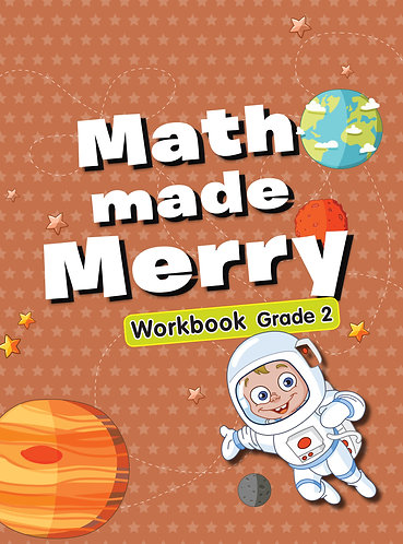 Maths Made Merry Workbook Grade -2