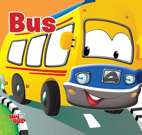 Bus : Cutout Board Book