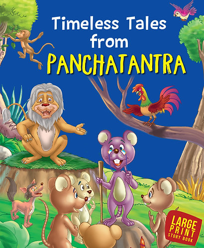 Timeless Tales Panchatantra : Large Print