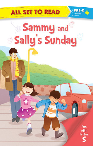 All set to Read fun with latter S Sammy and Sally's Sunday