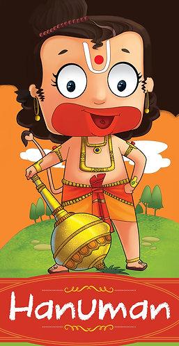 Hanuman : Cut-out Story Bookss